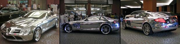 Mercedes Benz de oro